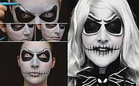 Грим для обличчя білий на Хелловін, 14 мл, Краска для лица белая на хэллоуин, фото 2