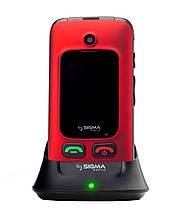 Мобильный телефон Sigma mobile Comfort 50 Shell DUO black-red (официальная гарантия)