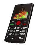 Мобільний телефон Sigma mobile Comfort 50 Solo black (1650mAh) (офіційна гарантія), фото 2