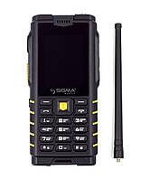 Мобильный телефон Sigma mobile X-treme DZ68 black-yellow (4500mAh) (официальная гарантия)