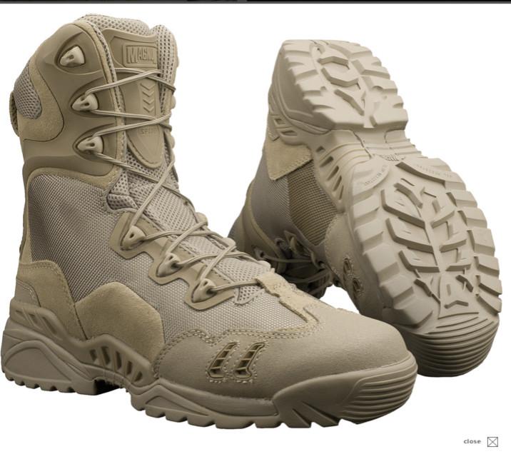 Всесезнные ботинки берцы на змейке Magnum Spyder Zhanlang