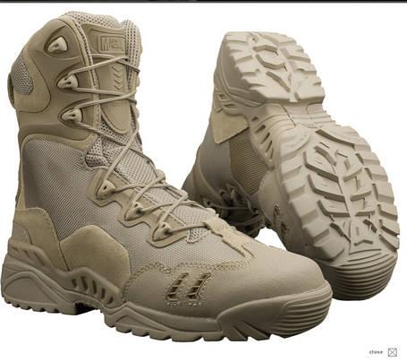 Всесезнные ботинки берцы на змейке Magnum Spyder Zhanlang, фото 2