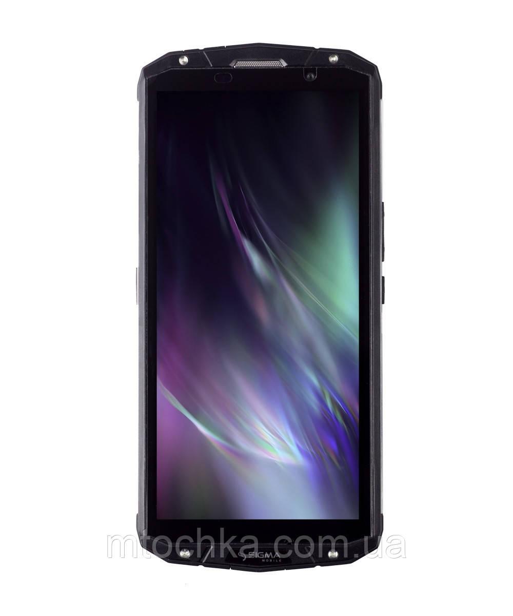 Смартфон Sigma mobile X-treme PQ54 black (6500mAh+беспроводная зарядка QI) (официальная гарантия)
