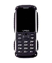 Мобільний телефон Sigma mobile X-treme PT68 black (4400mAh) (офіційна гарантія)