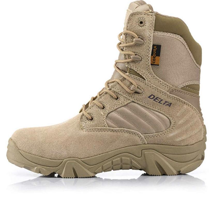 Песочные тактические ботинки берцы Delta Cordura Тайвань