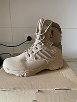 Песочные тактические ботинки берцы Delta Cordura Тайвань, фото 3