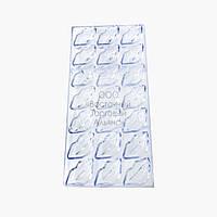 Поликарбонатная форма для шоколада - Губы - 21 ячейка, фото 1