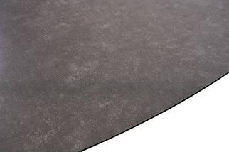 Стол Gloucester 140-180 см раскладной стекло + МДФ  тёмно-серый ТМ Concepto, фото 3