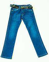 Утеплені джинси для хлопчика на ріст 134.140.146.152. см