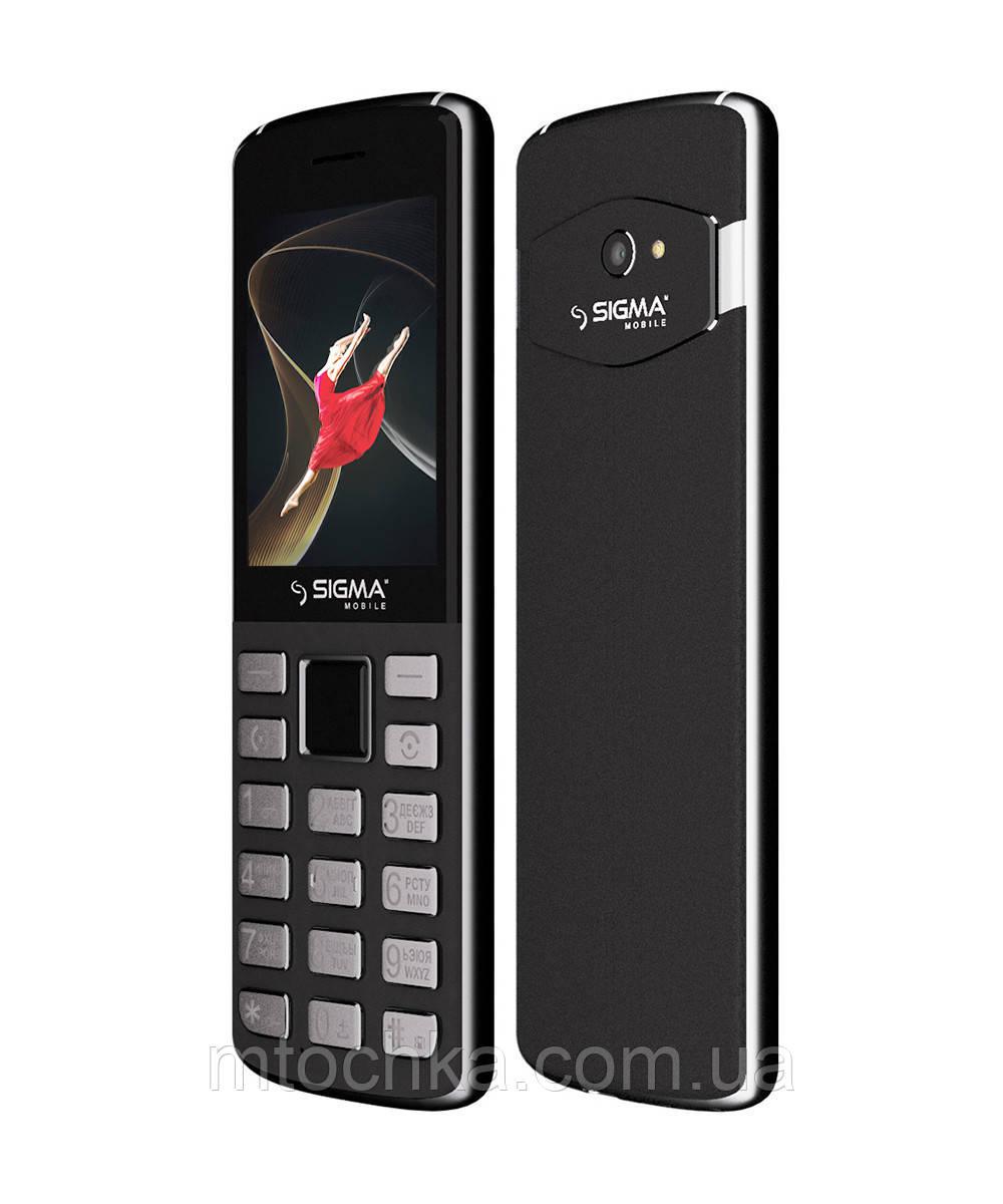 Мобільний телефон Sigma mobile X-style 24 ONYX grey (офіційна гарантія)