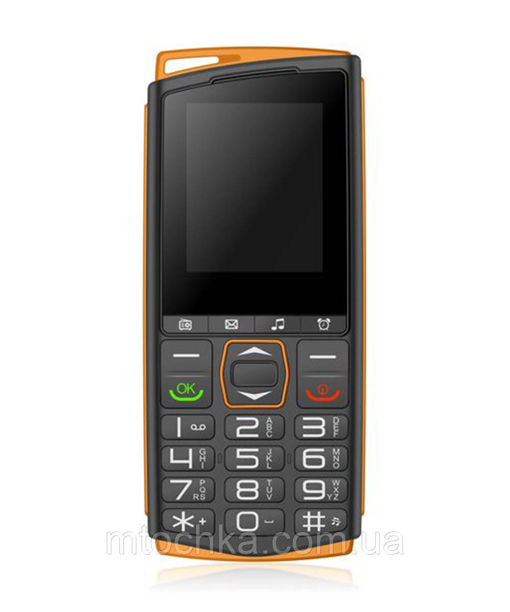 Телефон Sigma mobile Comfort 50 Mini4 black-orange