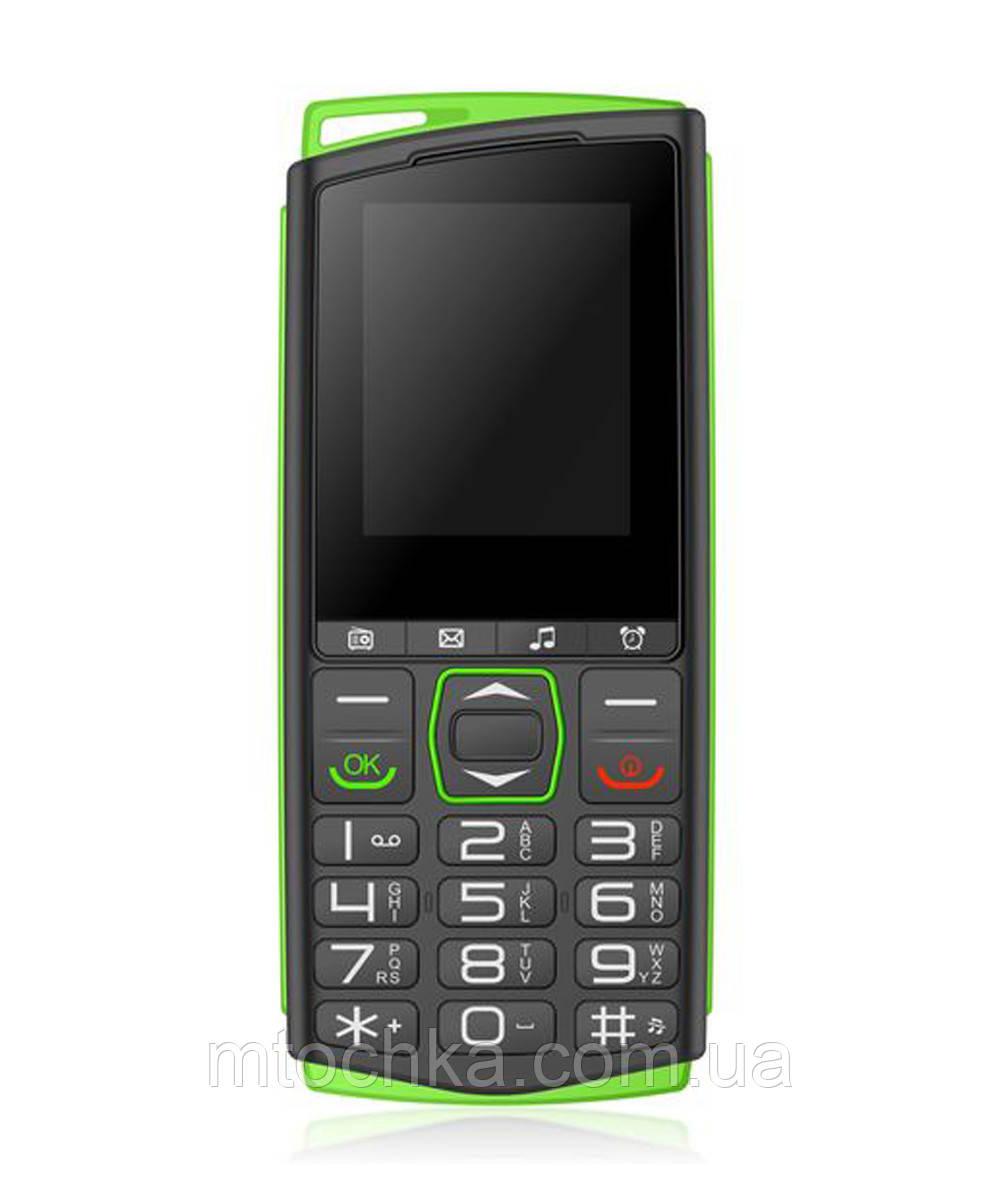 Телефон Sigma mobile Comfort 50 Mini4 black-green (официальная гарантия)