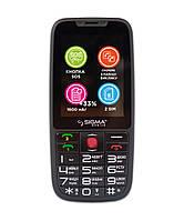 Мобильный телефон Sigma mobile Comfort 50 Elegance3 (1600mAh) black (официальная гарантия)