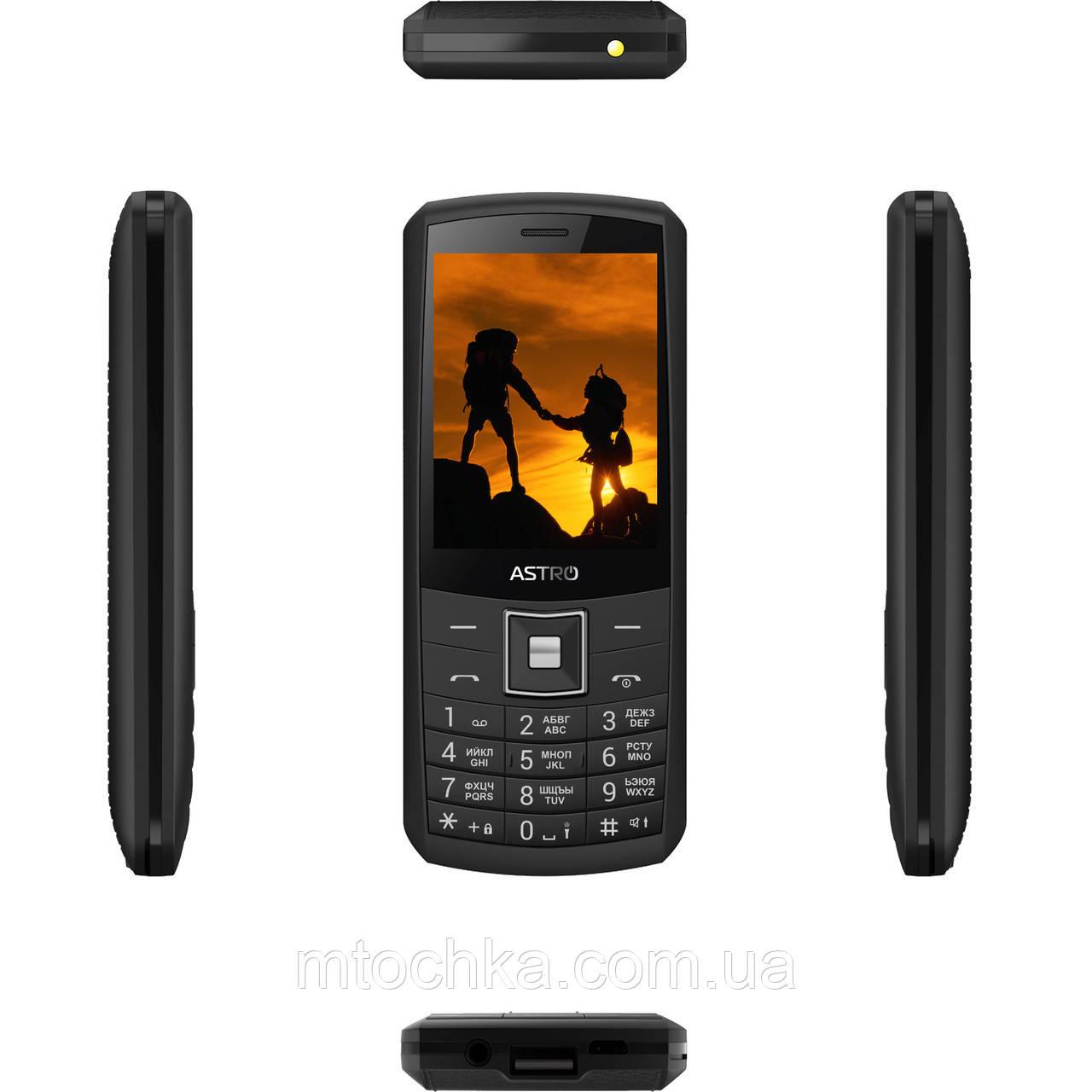 Мобильный телефон Astro A184 Black (официальная гарантия)