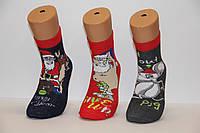 Мужские носки махровые новогодние MONTEBELLO 39-41, фото 1