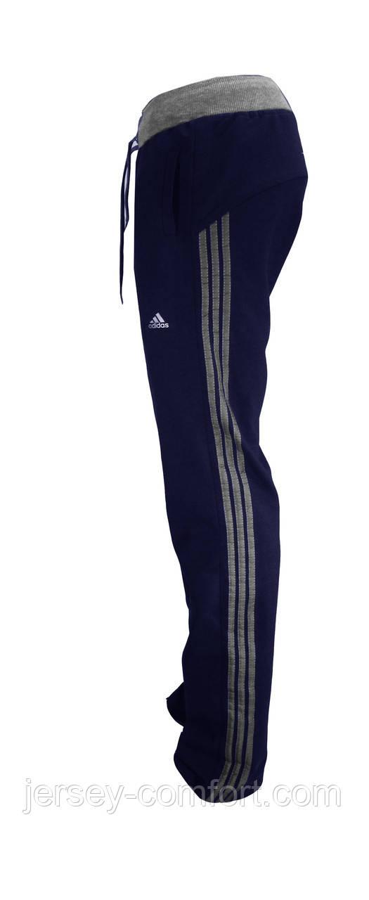 Штани жіночі спортивні трикотажні сині