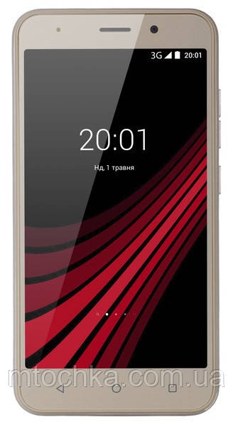 Телефон Ergo B506 Intro Dual Sim Gold