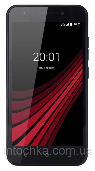 Телефон Ergo B506 Intro Dual Sim Black