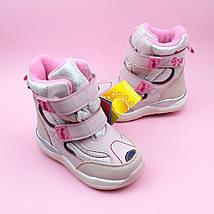 Термо ботинки розовые для девочки бренд Том.м размер 26, фото 2