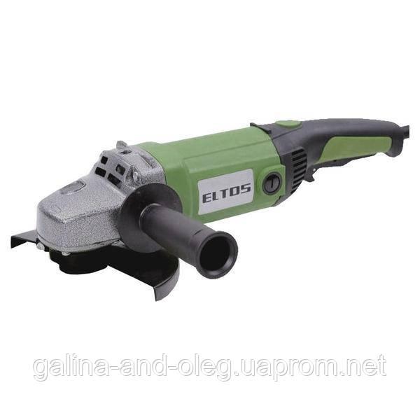 Угловая шлифмашина Eltos - 2100 Вт, 180 мм