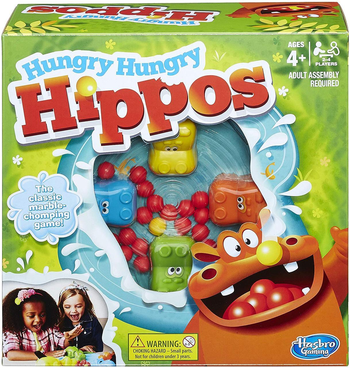 Игра Голодные бегемотики Friends Hungry Hungry Hippos Game Hasbro