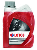 Полусинтетическое масло Lotos 2T красное 1л