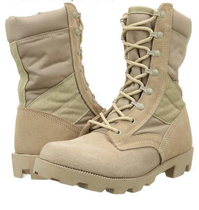 Песочные армейские ботинки берцы американки рыхленки MilTec JUNGLE копия, фото 2