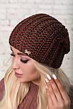 Женская шапка крупной вязки (в расцветках), фото 4