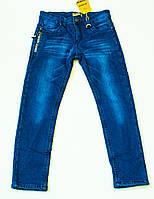 Утеплені джинси для хлопчика на ріст 134.140.146.см