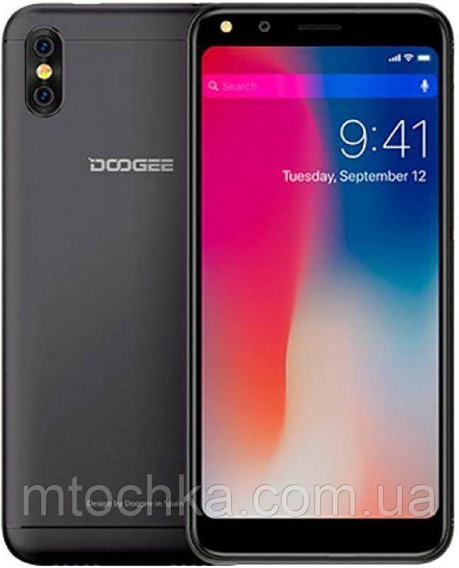 Телефон Doogee X53 black