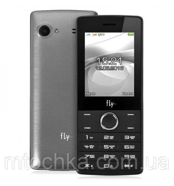 Телефон FLY FF244 Grey