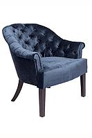 Мягкое кресло BRIDGE / Бридж на деревянном каркасе (цвета обивки на выбор)