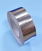 Скотч алюминиевый армированный  50м x50мм  30мкм 4VENT