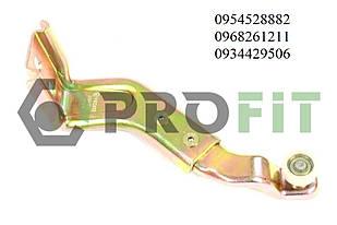 Ролик правой боковой двери нижний (с кронштейном) VW LT / Mercedes Sprint (1996-2006) PROFIT (Чехия) 2030-0011