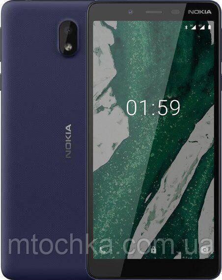 Телефон Nokia 1 Plus Dual Sim Dark Blue (официальная гарантия)