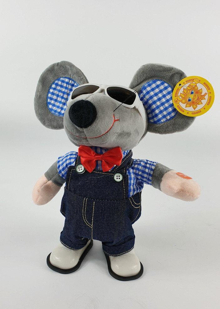 Музыкальная, мышка, интерактивная, игрушка, бегает, поет, крыса