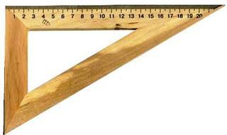 Косинець дерев'яний 22 см Міцар Україна