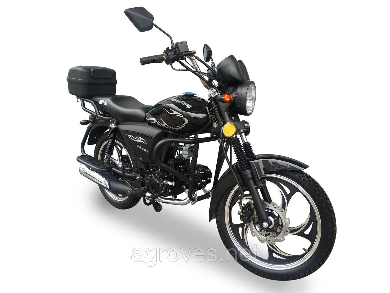 Мотоцикл MUSSTANG Alfa Fit MT125-8