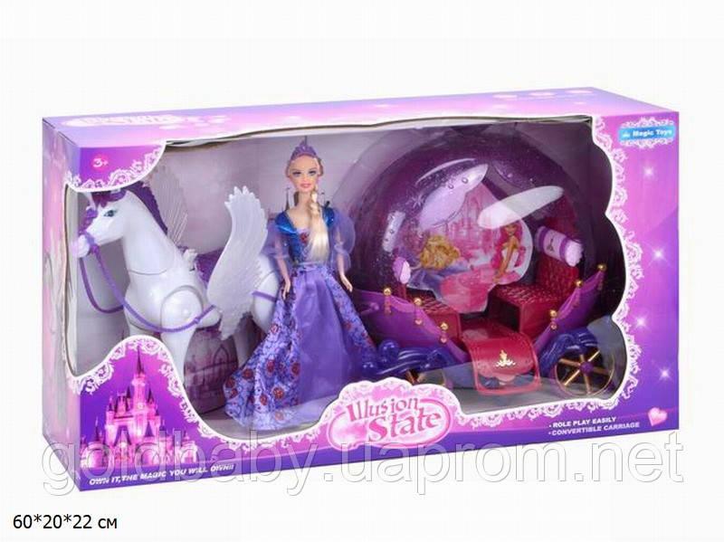 Карета с куклой 234A