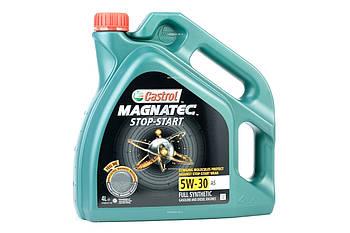 Масло моторное Castrol Magnatec Stop-Start 5W-30 A5 (Канистра 4л)