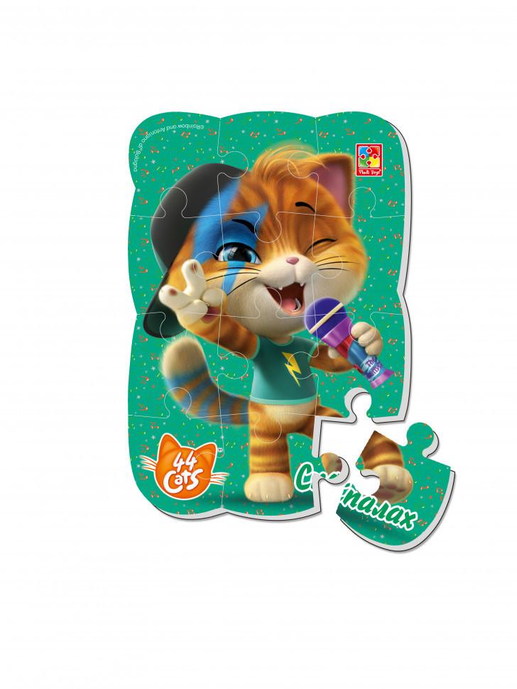 """Пазлы магнитные А5 """"44 Cats"""" VT3205 (""""Вспышка"""" (укр))"""