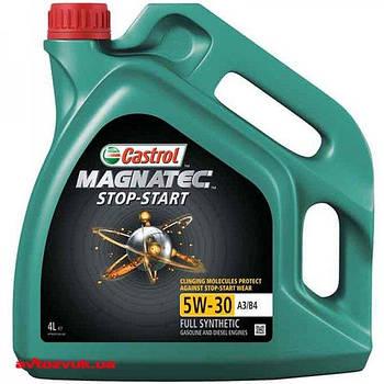 Масло моторное Castrol  Magnatec Stop-Start 5W-30 А3/В4 (Канистра 4л)
