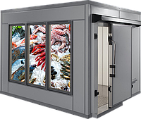 Холодильное оборудование (холодильная камера хранения морепродуктов), фото 1