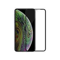 5D full glue защитное стекло для Apple iPhone 11 Pro Max (black)