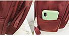 Рюкзак в японском стиле с аниме Хародзюку бардовый Midnite star (AV210), фото 4