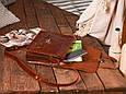 """Портфель шкіряний чоловічий на клапанах і кобурних гвинтах """"Folio"""", фото 6"""