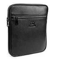 Мужская сумка планшет кожаная BRETTON 23*26*5, фото 1