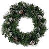 Венок Magictrees Новогодний еловый с шишками диаметр 50 см