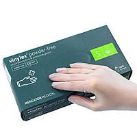 Перчатки виниловые Vinylex S нестерильные неопудренные (50 пар/уп)