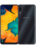 Телефон Samsung SM-A305F Galaxy A30 2019 3/32GB Duos black, фото 1